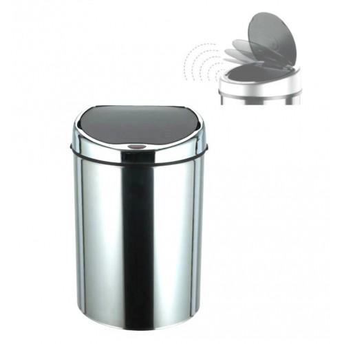 Lixeira Automática com Sensor 3 Litros de Inox
