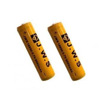 Kit 2 Baterias 18650 Recarregável 8800mAh 3,7Vdc