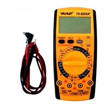 Multímetro Capacímetro Digital Yaxun 9205A