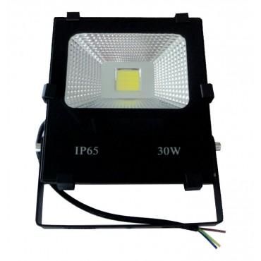 Refletor de Led 30W Branco IP65 Bivolt