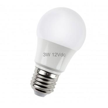 Lâmpada de Led Bulbo 3W 12V