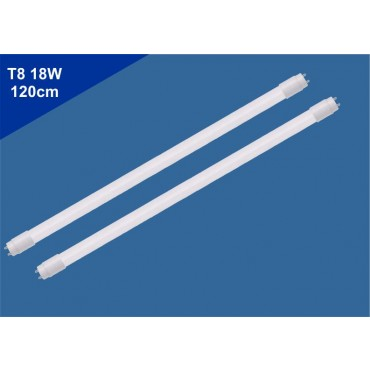 Kit 2 Lâmpadas Tubular de Led T8 18W 120cm