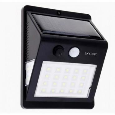 Luminária Solar Super Led com Sensor de Presença